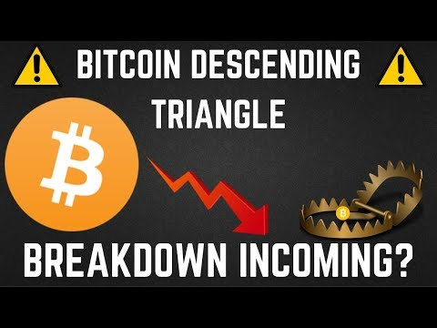 BITCOIN This Descending Triangle Could Mean A BREAKDOWN IS COMING (BTC Technical Analysis)