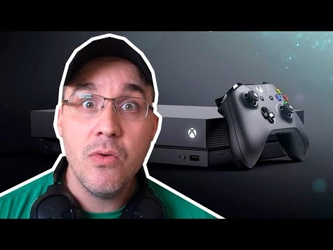 XBOX ONE X - ÚLTIMO CONSOLE DA MICROSOFT !?🤔 SEM EXCLUSIVOS?
