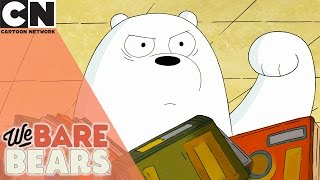 We Bare Bears | The Library | Cartoon Network