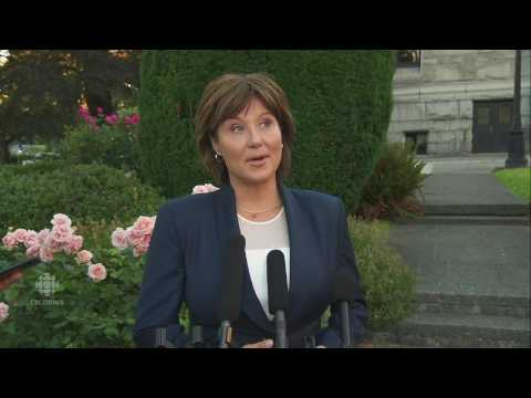 Christy Clark's BC Liberals defeated, NDP's John Horgan to become Premier