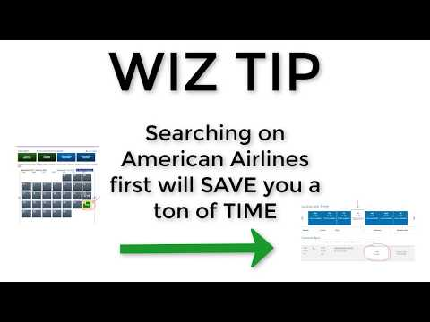 How To Book American Airlines Award Flight Using British Airways Avios 2018 - WIZ TIP
