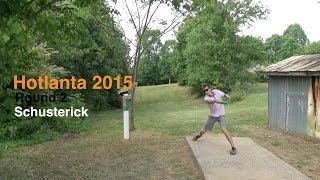 Round 2 - Hotlanta 2015 - Will Schusterick - Disc Golf