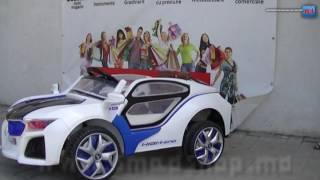 Детский электромобиль с пультом управления BMV i8 RT 9958(Характеристики, цена, купить детский электромобиль BMV i8 RT 9958 в Кишинев, Молдове можно здесь http://smadshop.md/detskie-tova..., 2016-06-17T14:38:33.000Z)