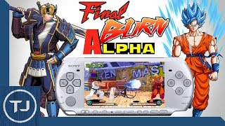 PSP Final Burn Alpha Emulator! 2018!
