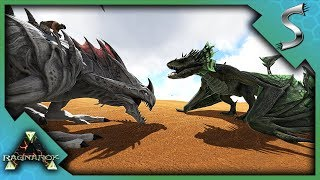 DESERT BASE RAIDED! NEVER FIGHT A REAPER WITH A WYVERN! - Ark: Survival Evolved [PVP Cluster]