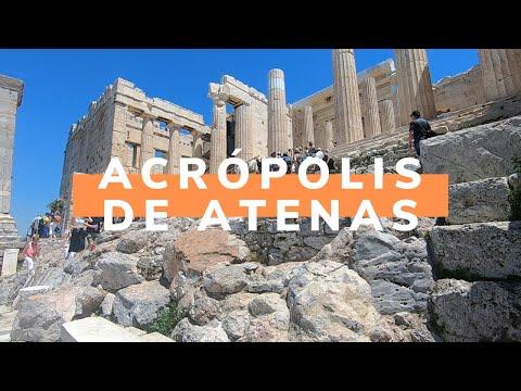 La Acrópolis de Atenas, la ciudad alta de Grecia