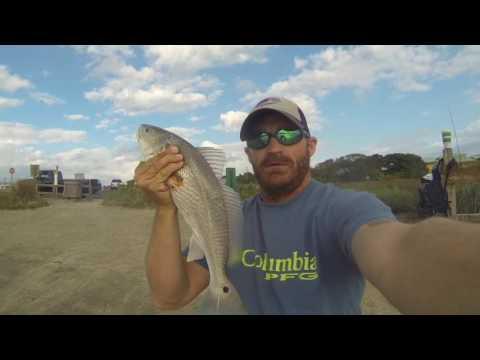 Fishing Guana Dam For Redfish
