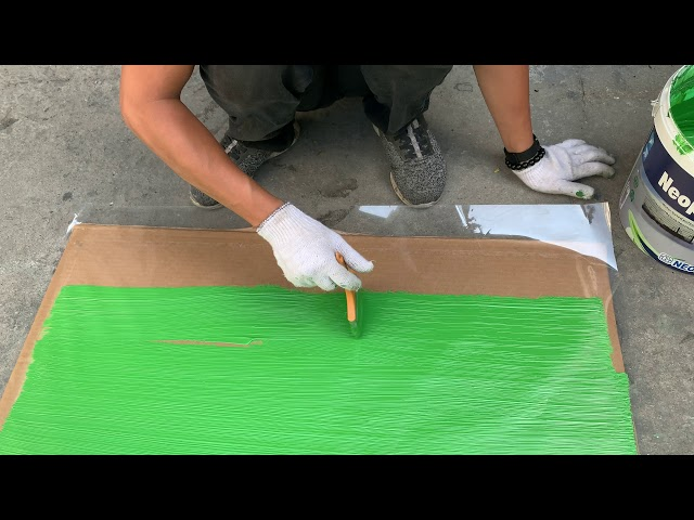 Quét Mẫu Neoproof PU W - Green