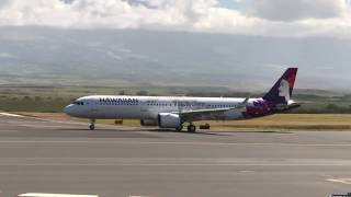 Hawaiian Airlines Airbus A321neo Test Flight