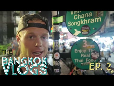 Bangkok Life: Ep.2–Tuesday | Khaosan Road 🇹🇭 #1 Most Visited Travel Street–A Digital Nomad's Week