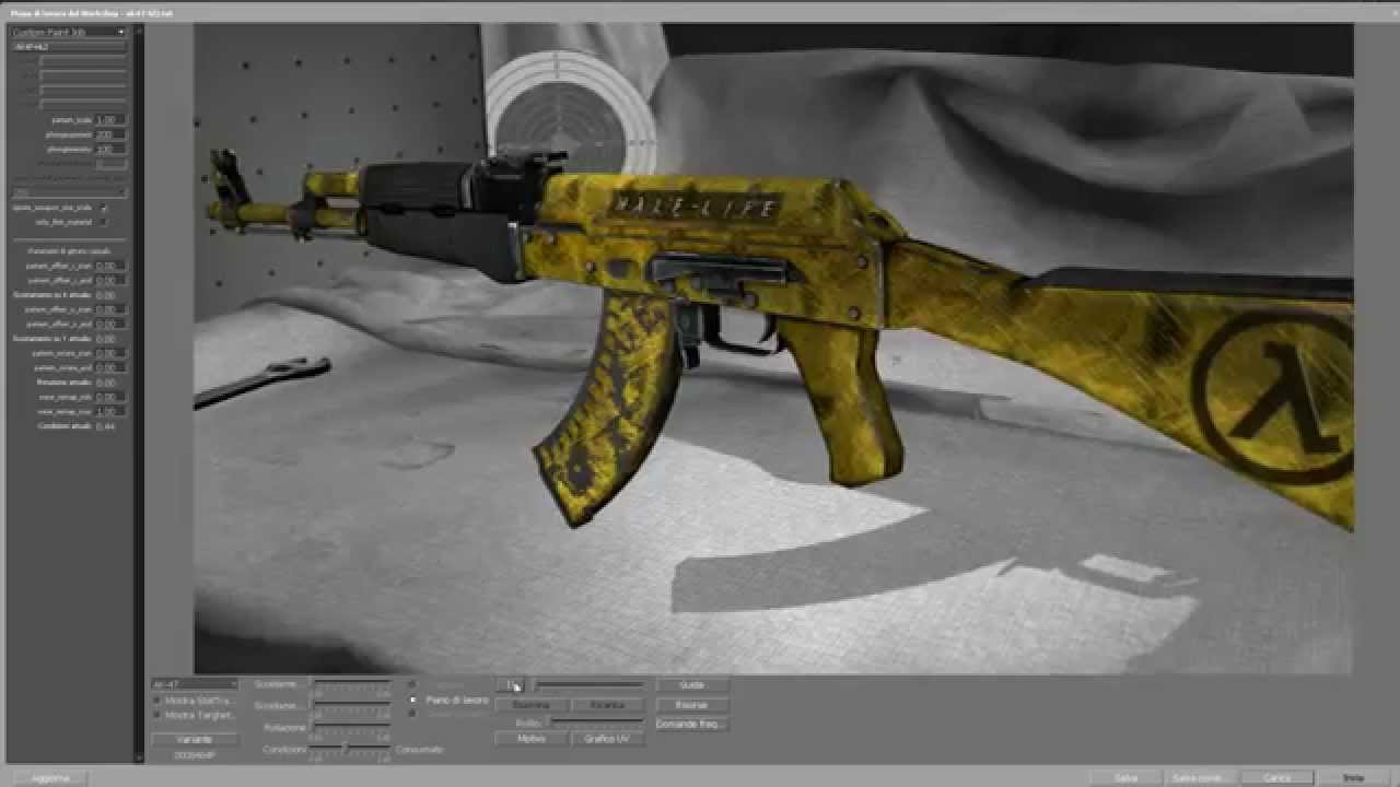 Csgo Ak 47 Half Life 2 1080hd Youtube