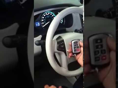 2017 Toyota Sienna Van Factory Remote Start Upgrade By Al Ed S Autosoud Huntington Beach You