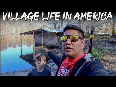 USA Village Life.