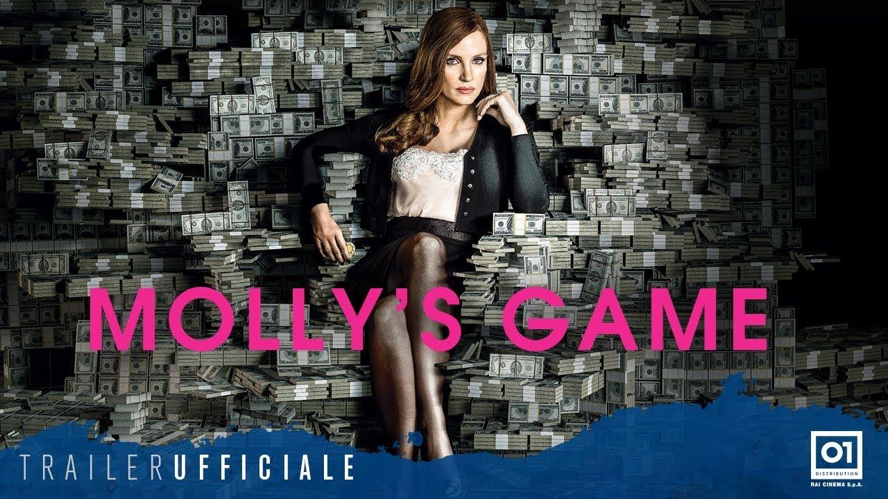 MOLLY'S GAME (2018) con Jessica Chastain - Trailer ufficiale Italiano HD
