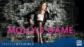 MOLLY'S GAME (2018) con Jessica Chastain - Trailer ufficiale Italiano HD