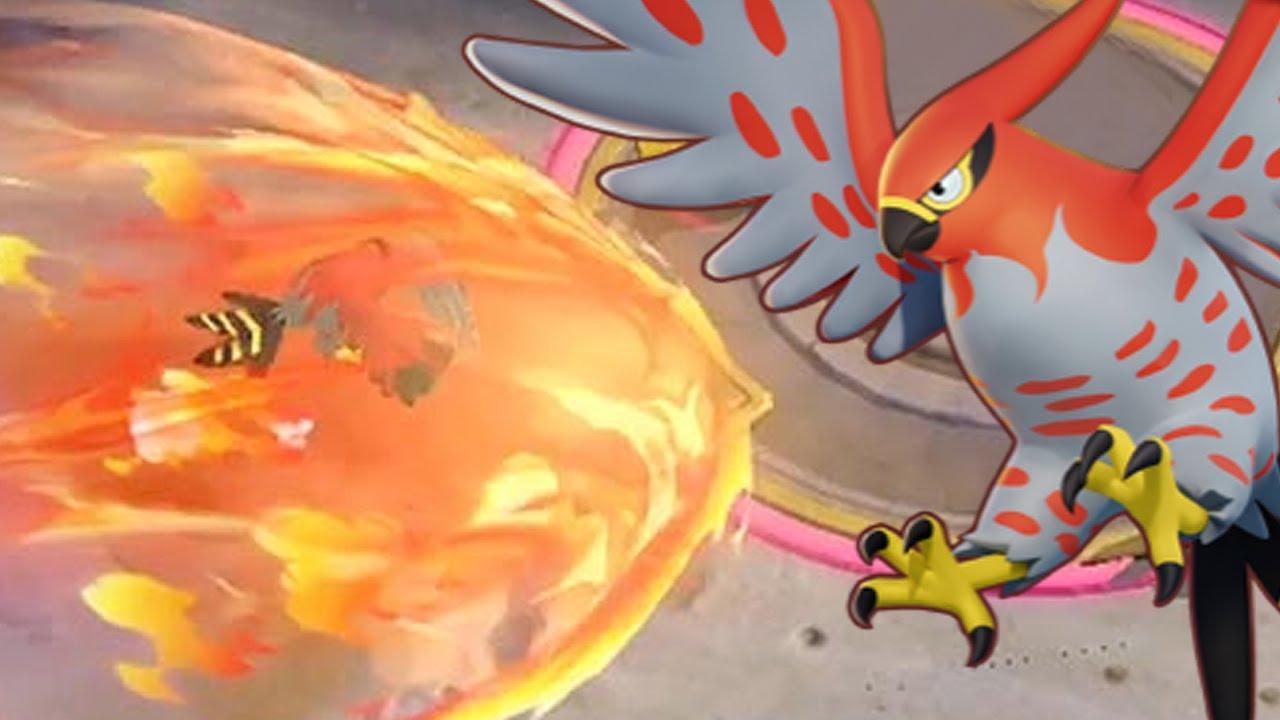 [포켓몬 유나이트] 게임 튕겼는데 딜 1등 하는 파이어로? (※해로운 새 주의) (Pokémon UNITE)