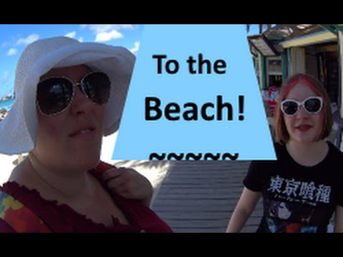 Walking to Junkanoo Beach from the Cruise Ship ~ Carnival Victory Vlog [ep16]