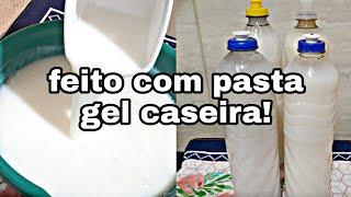 Como Fazer Detergente com Pasta Gel Caseira – DICAS SIMPLES