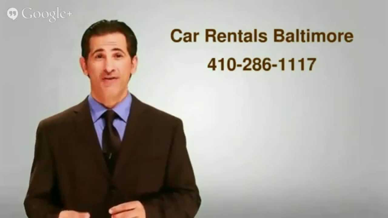 Car Rentals In Baltimore Md: 410-286-1117 - YouTube