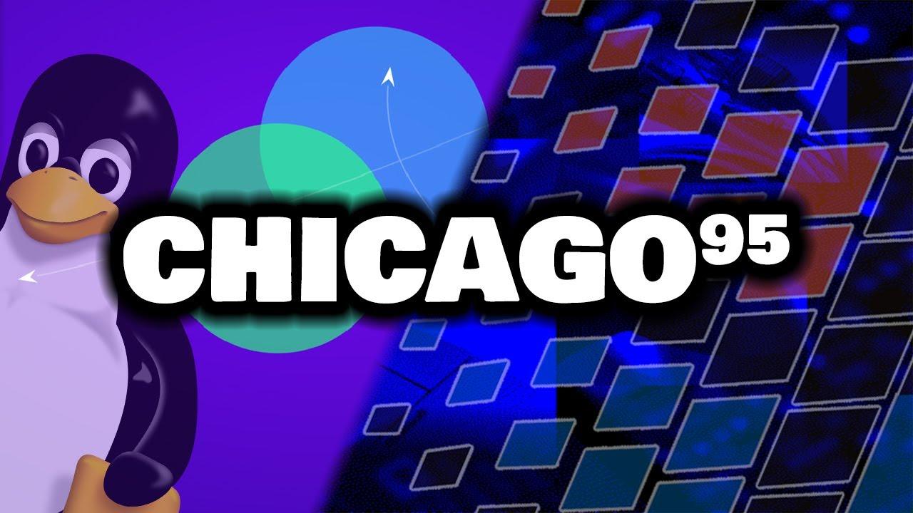 Transforming Linux into Windows 95! - Chicago95 Installation & Demo
