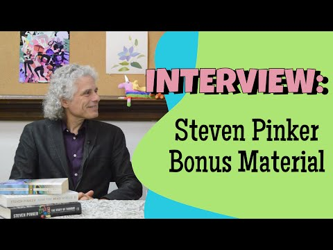 Interview with Steven Pinker - Extras