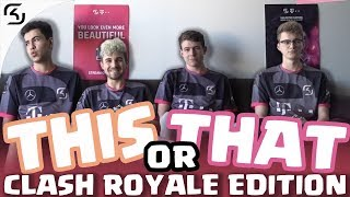 THIS OR THAT? CHALLENGE | SK CLASH ROYALE