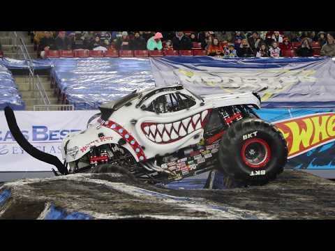 Monster Mutt Dalmatian Driver Candice Jolly's Two-Wheel Rollover Tampa