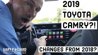 2019 Toyota Camry & some changes from 2018 with Gary Pollard The Fist Pump Guy