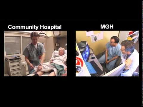 "MGH/BWH/Partners TeleStroke ""Hub and Spoke"" Simulation Video"