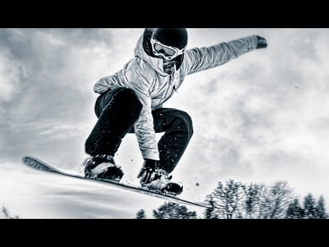 Snowboarders + skier;) Are Awesome Montage