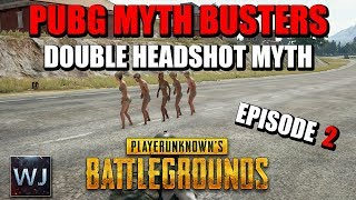 PUBG MYTH BUSTERS #2: Shoes or Barefoot Speed, Double AWM Headshot, Molotov Survival