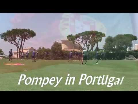 Pompey in Portugal: Full coverage now on Player