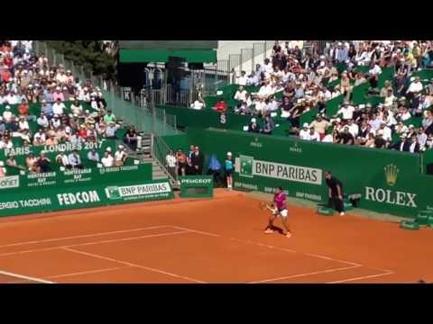 Rafael Nadal vs Alexander Zverev 2017 Monte Carlo Rolex Masters ( video 2)