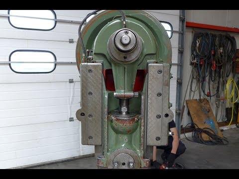 3421 = Rijva 504 Excentric press Exzenterpresse MACH4METAL EBU MUELLER PRESSE Mechanical presse