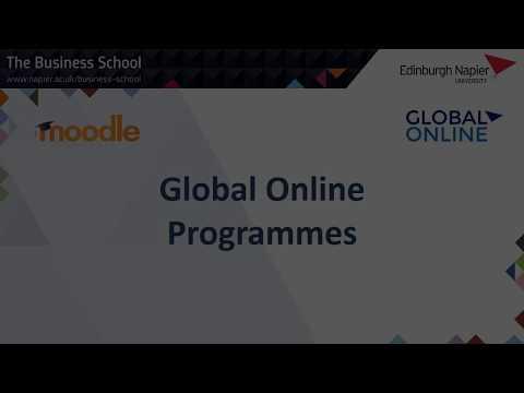Edinburgh Napier University Global Online Demo