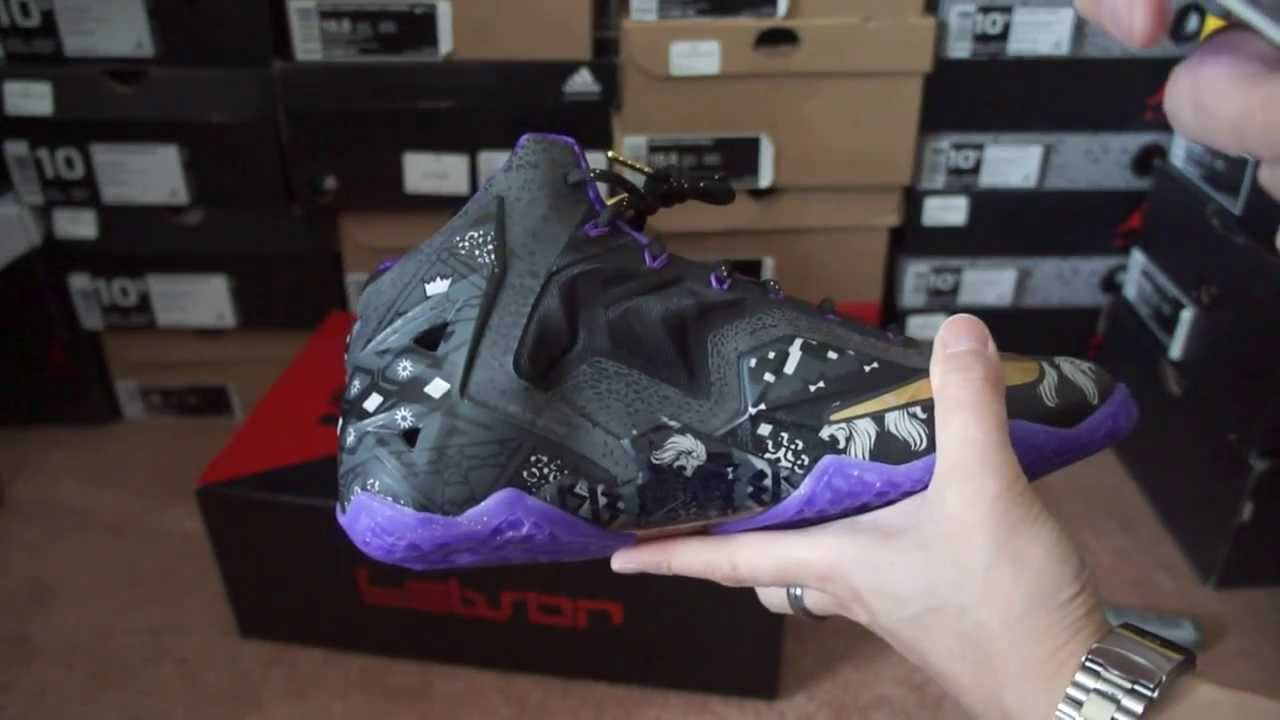 best loved 6dc81 4f1cb Nike Lebron 11 (XI) BHM (Black History Month) Unboxing   Review Nike ...