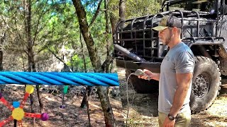 Shooting an Elevator Cable, Under Max Load!!!