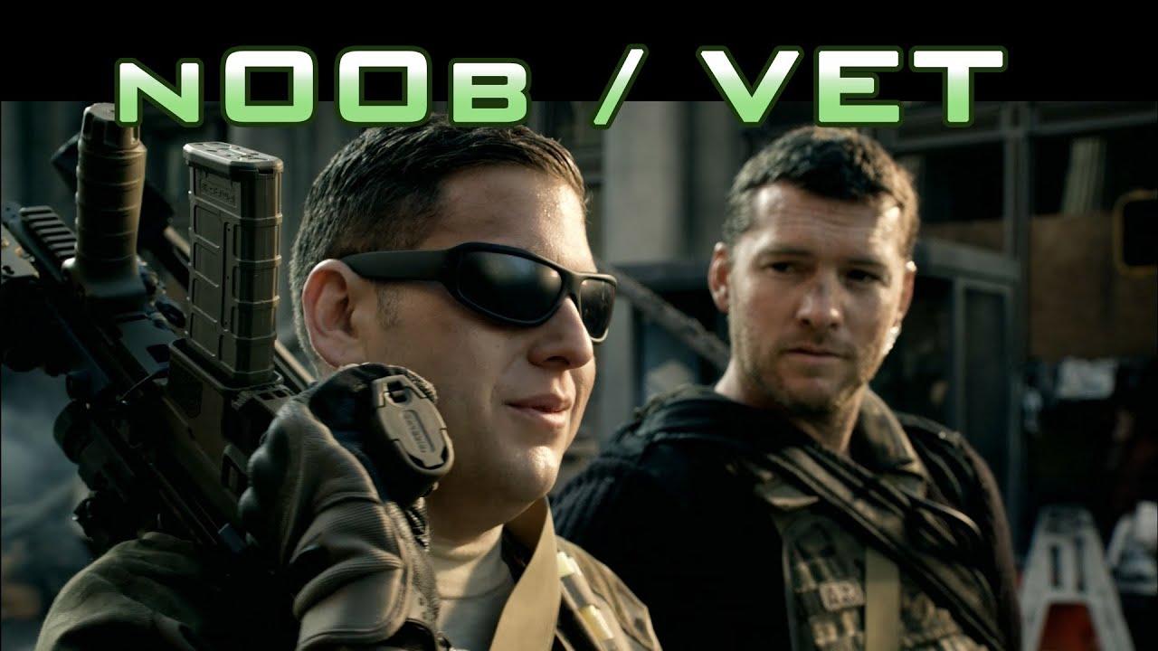 Modern Warfare 3 Live Action Vet And N00b Trailer Youtube