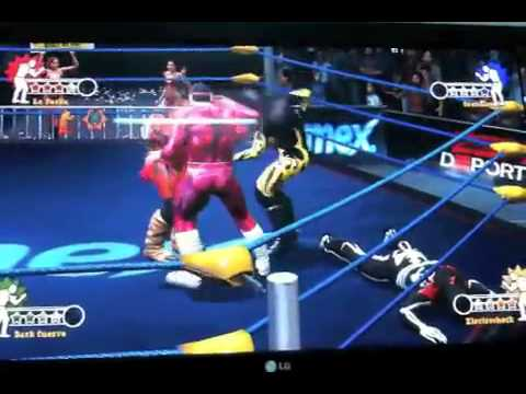 ps3-4vn : thử nghiệm game Lucha Libre AAA: Heroes del Ring