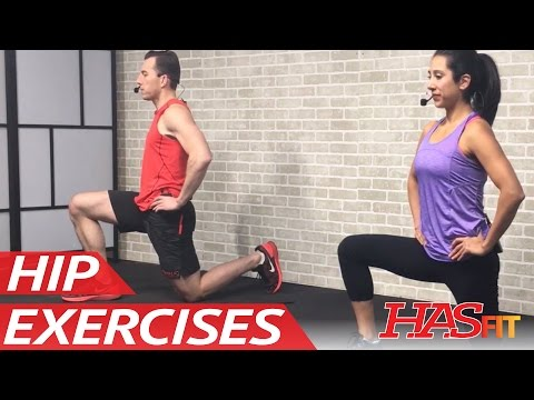 25 Min Hip Stretching & Strengthening Exercises for Hip Pain - Hip Stretches Mobility Drills Workout
