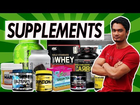 Supplements For Muscle Building - SFZ Transformation (Bangla Video)