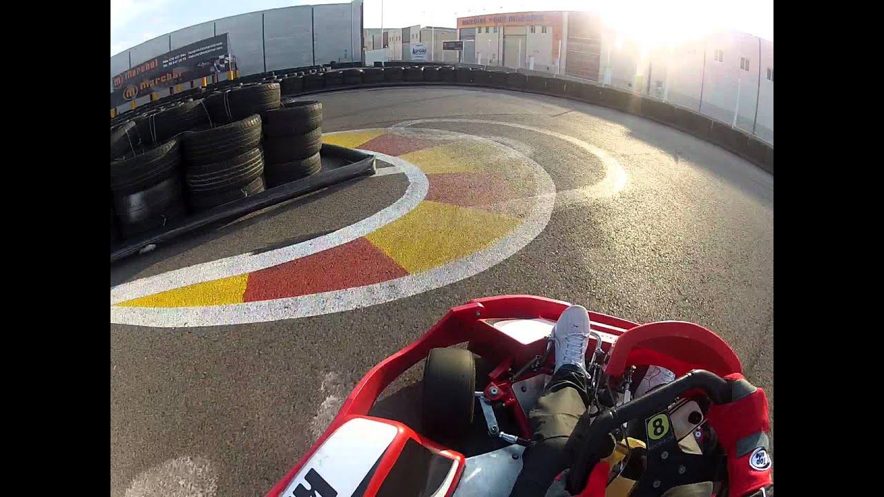 Circuito Horta Nord : Mike pilotando en karting horta nord tanda en solitario gopro hd