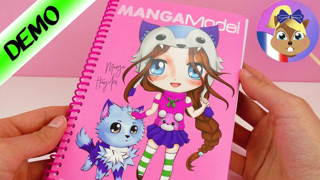 Dessiner des mangas pour d butants avec le cahier de - Photo de dessin top model ...