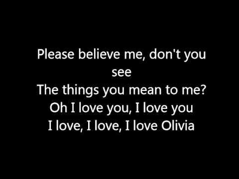 Olivia - One Direction (LYRICS) HQ
