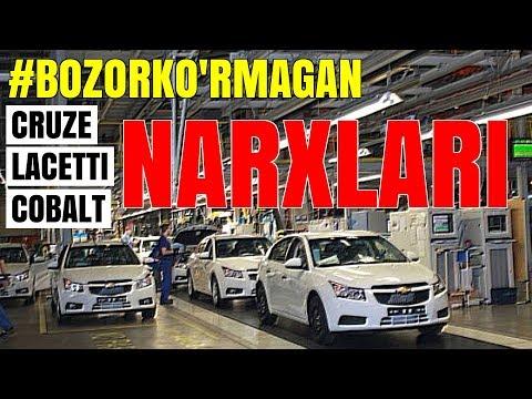 22 SENTABR #BOZORKURMAGAN LACETTI CRUZE va COBALT NARXLARI
