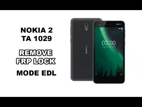 NOKIA 2 TA 1029 FRP REMOVE EDL MODE TEST POINT