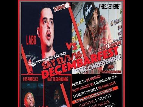 Areray vs Columbo Black/ Cali-Heat/ LABG/ Battle Rap