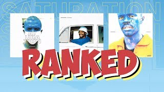 Ranking Every Song off the Saturation Trilogy