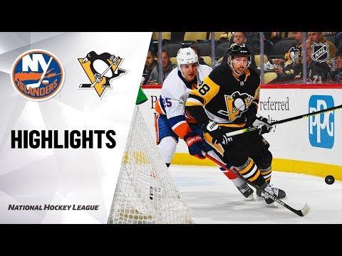 NHL Highlights   Islanders @ Penguins 11/19/19
