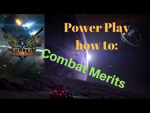 Elite Dangerous Power Play how to Combat Merits